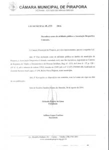 Projeto lei 2235-2014