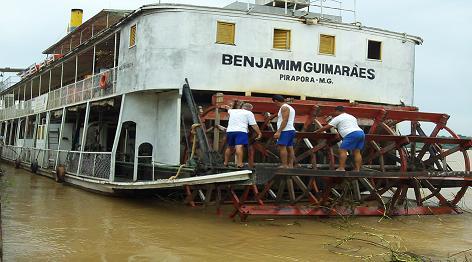 Marinheiros Fluvial em Manutenção