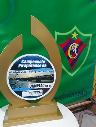 Campeão Sub-11 - 2015