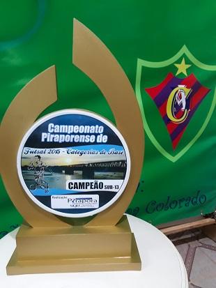 Campeão Sub-13 - 2015