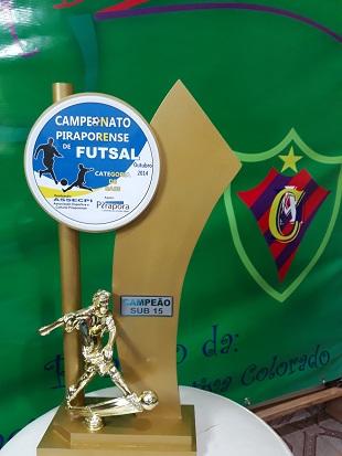 Campeão Sub-15 - 2014