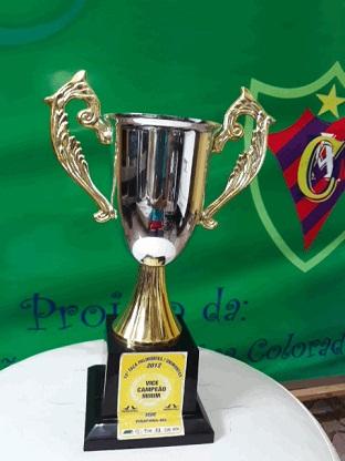 Vice-Campeão Taça Palimontes/Unimontes Cat. Mirim - 2012